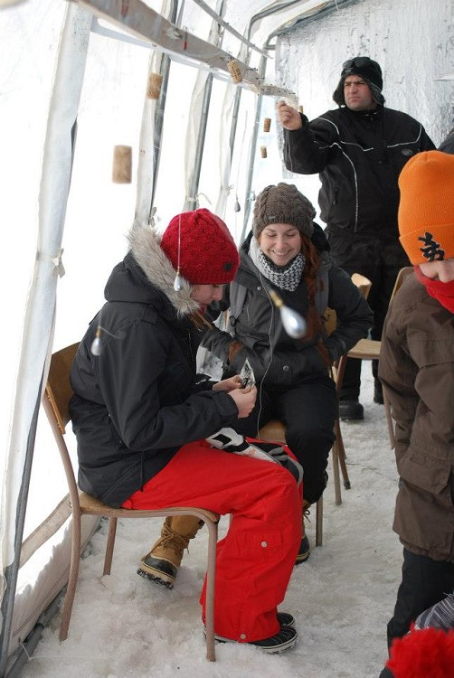 Carnaval - Tournoi de pêche blanche 2013
