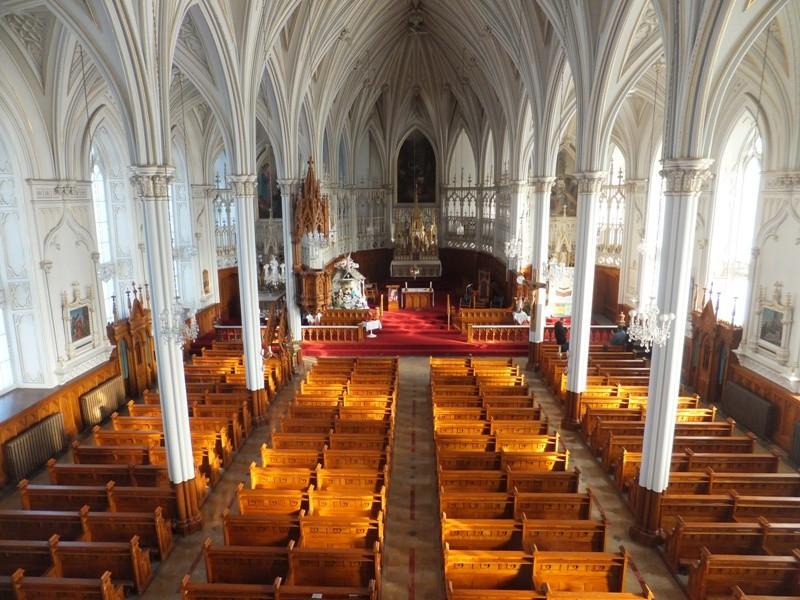 Intérieur église L'Isle-Verte (Photo : © Aline Jestin)