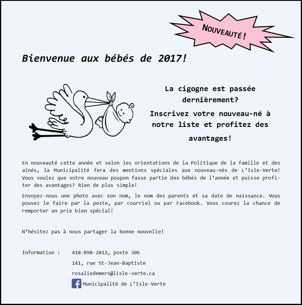 service nouveaux-nés 2017