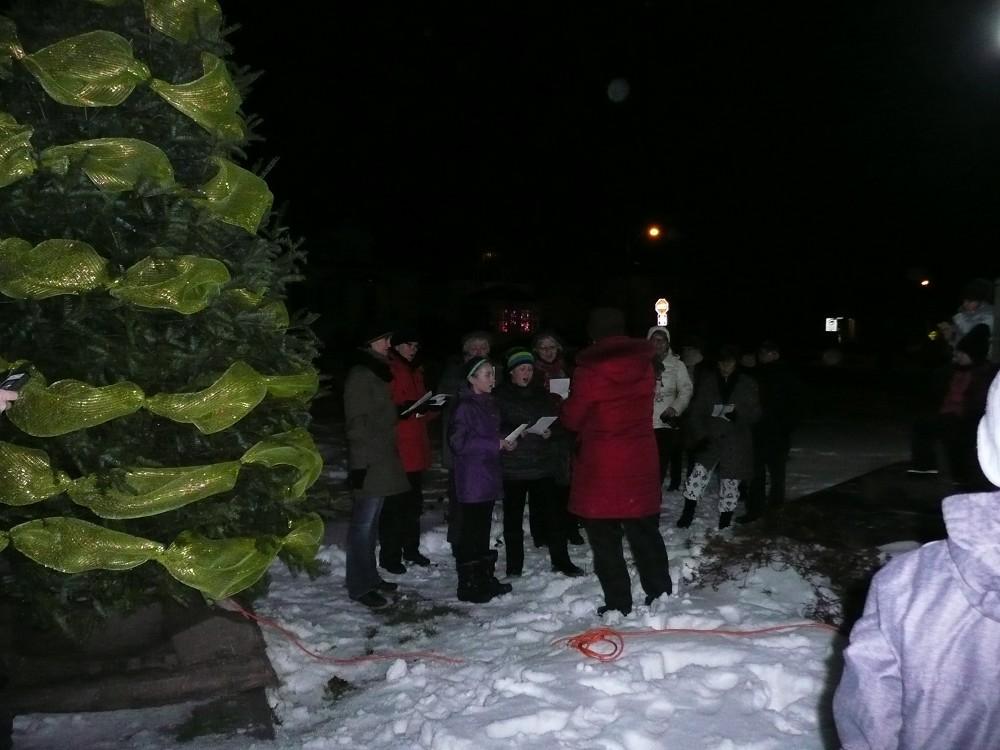 Noël - illumination de l'arbre 2014