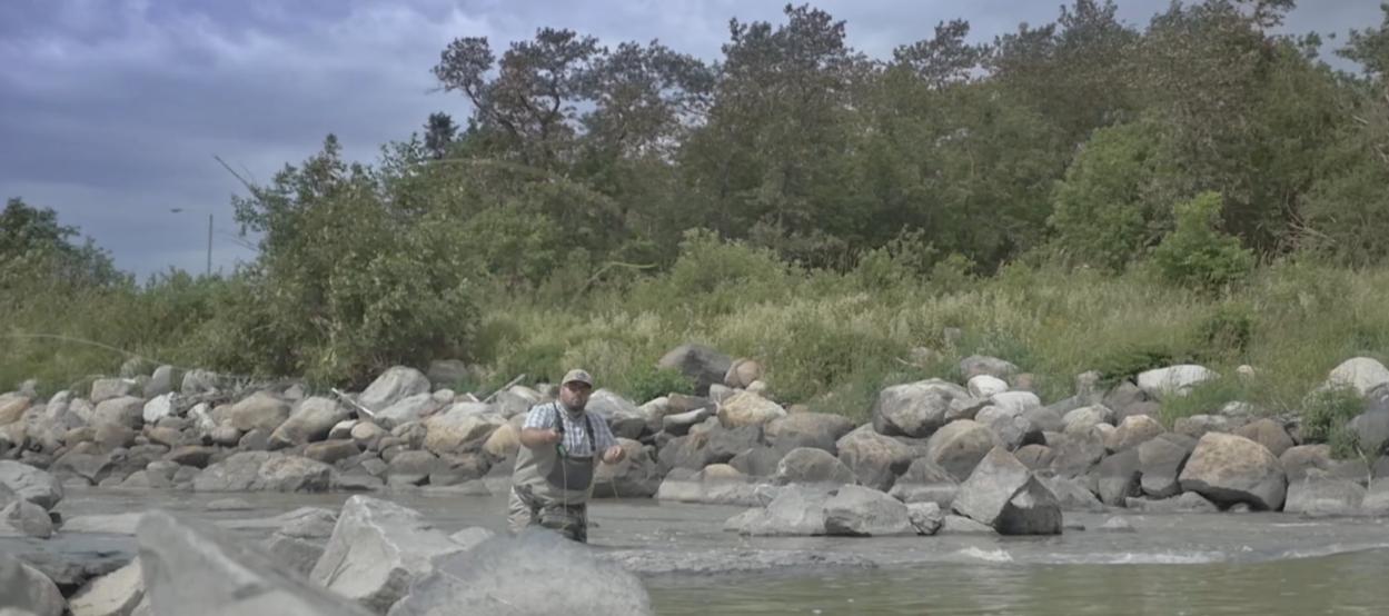 Pêche à la mouche Rivière Verte