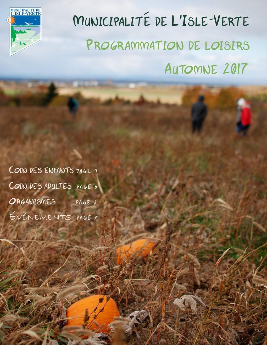 prog automne 2017 cover